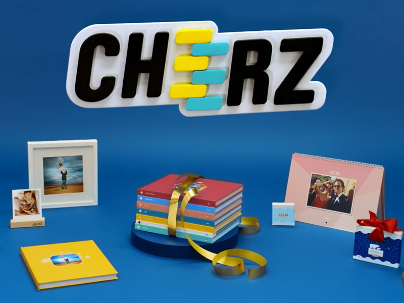 CHEERZ application, publicité, stop motion