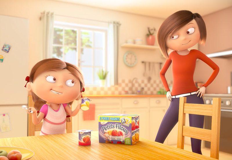 YOPLAIT animation 3D TV