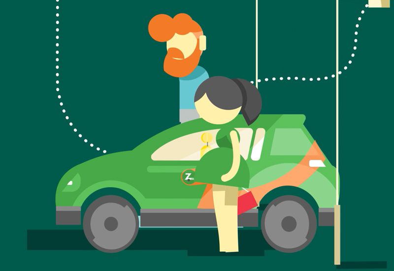 ZIPCAR MOTION DESIGN ET ANIMATION