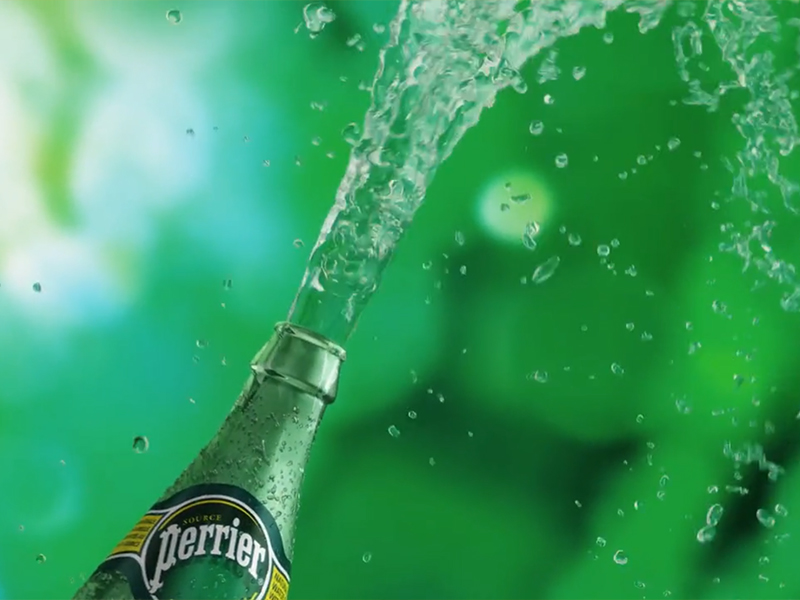 PERRIER ANIMATION 3D